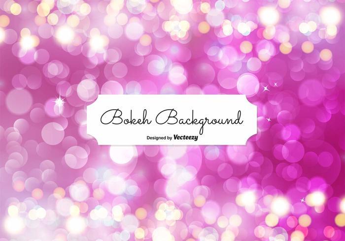 Elegant Bokeh Background Illustration