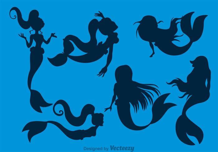 Mermaids Silhouette