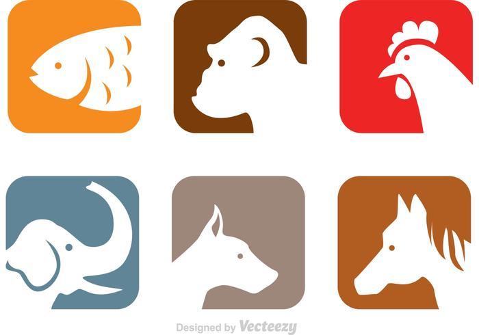 Animals Head Icons