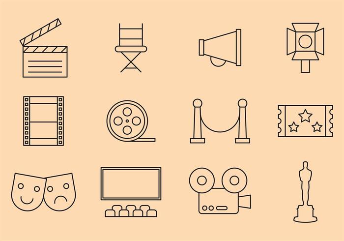 Vector Movies Icons