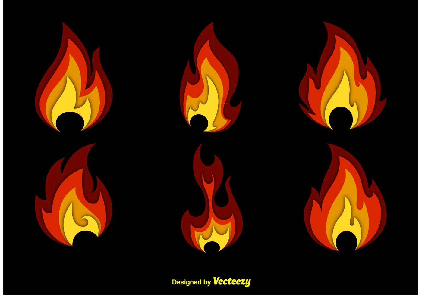 Fire Free Vector Art 16067 Free Downloads
