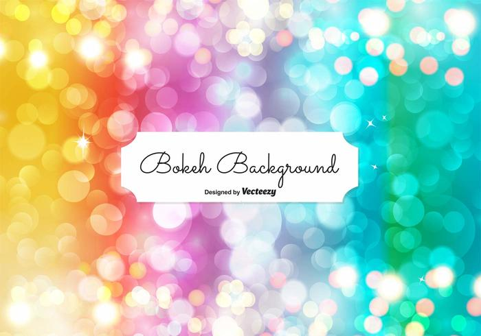 Elegant Bokeh Illustration vector