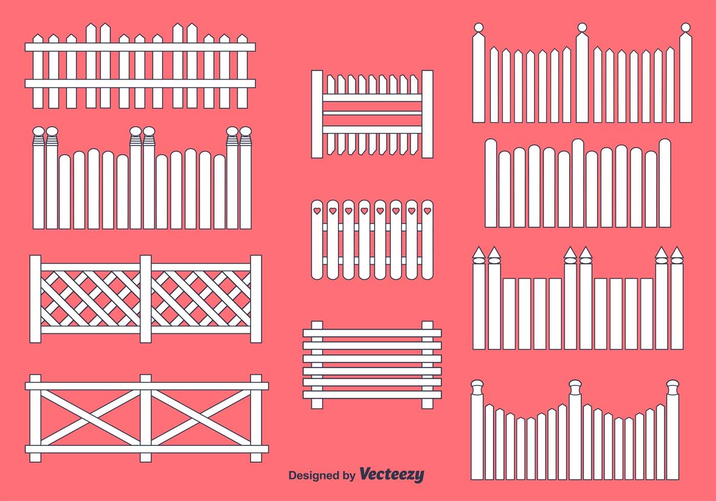 Picket Fence Vectors Download Free Vector Art Stock