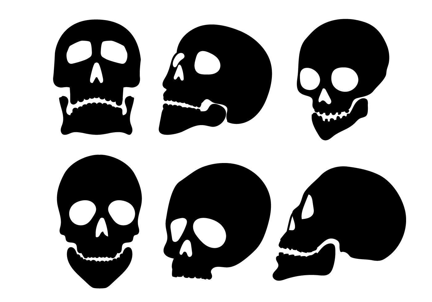 skull silhouette vectors download free vector art  stock dead fish bones clipart dead fish skeleton clipart