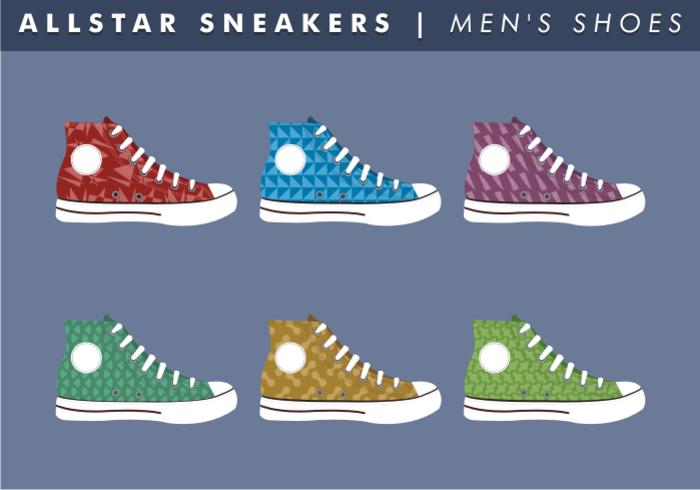 Men's Shoes Vector