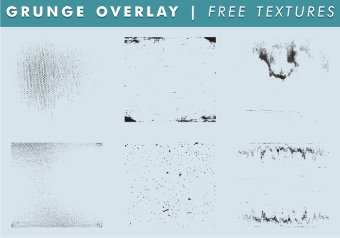 Grunge Overlay & Texture Free Vector