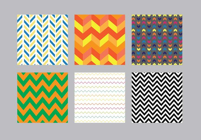 Chevron Patroon Vector Pack