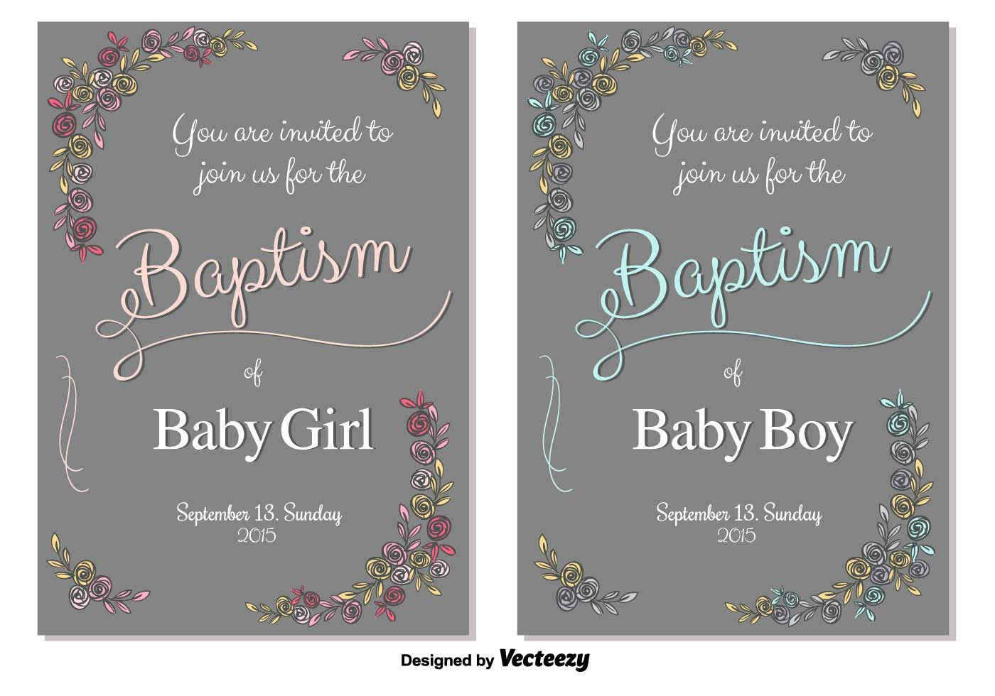 Baptism Vector Invitation Download Free Vector Art Stock Graphics