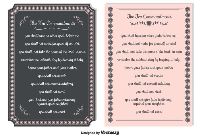 Ten Commandments Backgrounds
