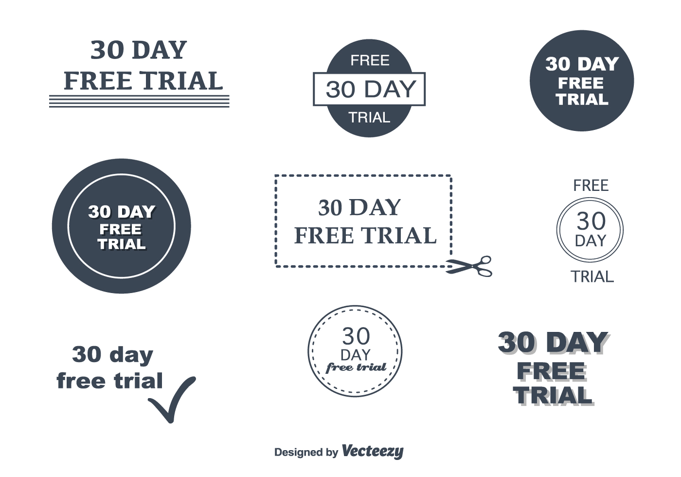 30 day free trial vectors download free vector art stock graphics images