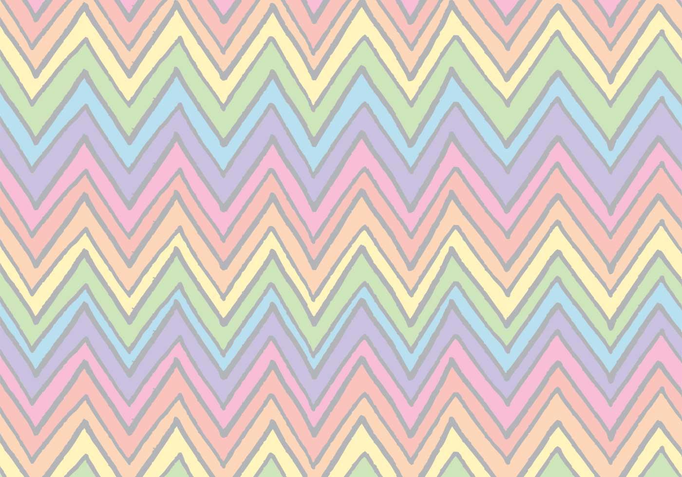 Free Rainbow Chevron Pattern Vector Download Free Vector Art