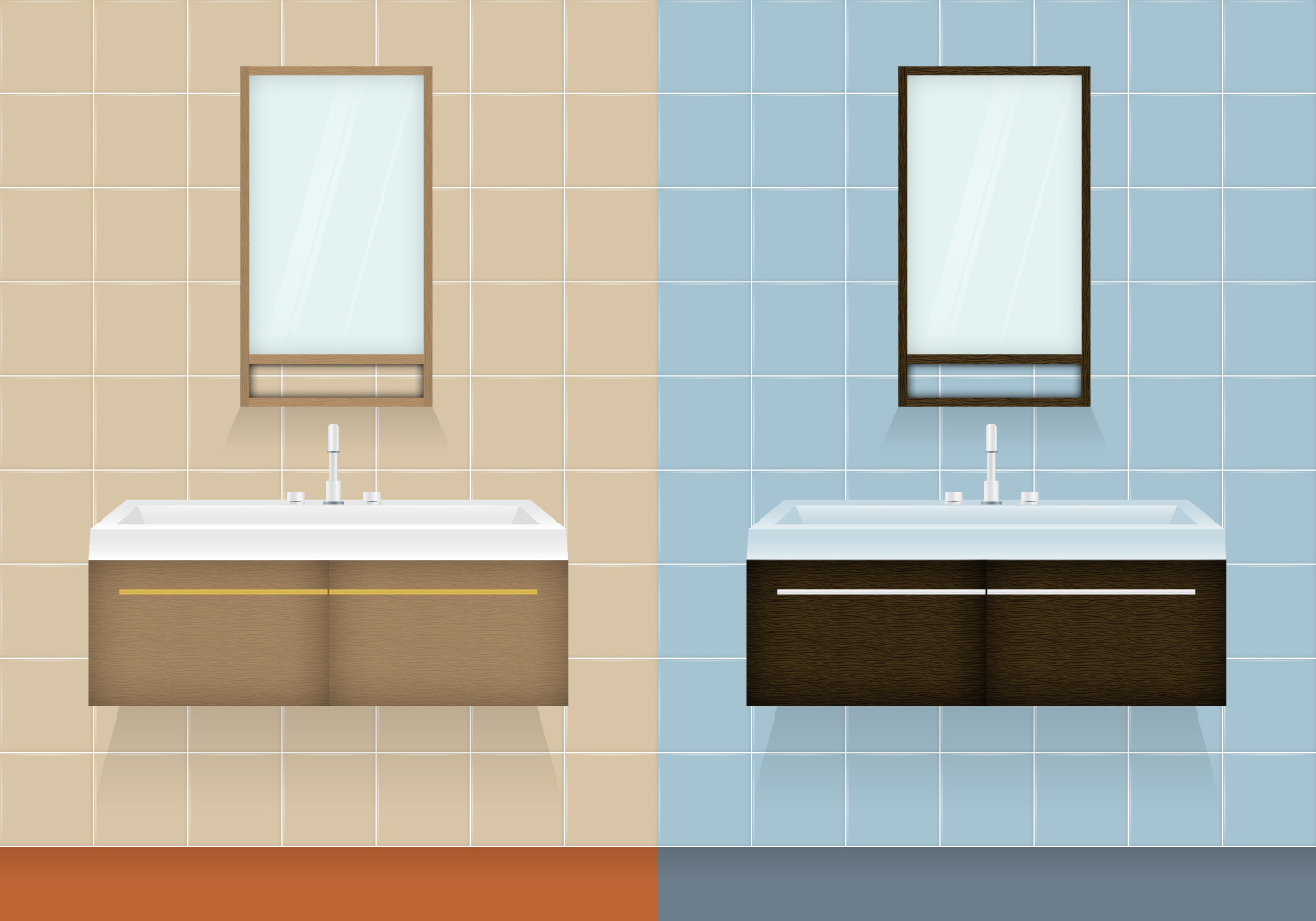 Bathroom Cabinet Vectors - Download Free Vector Art, Stock Graphics ...