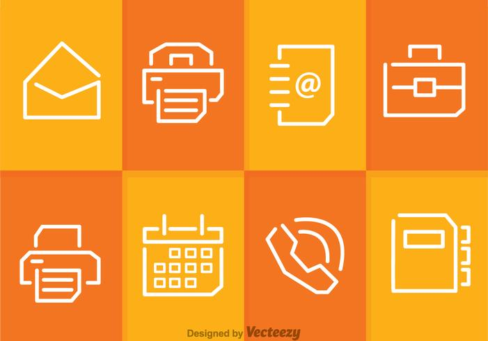 Bussiness And Office Icon Vectors
