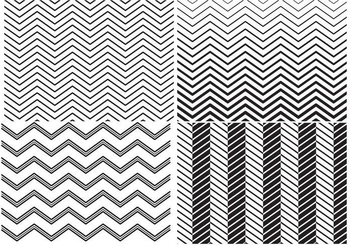 Zig Zag Pattern Vectors
