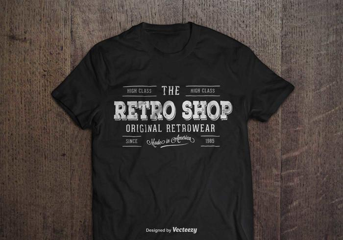 Vintage Retro Style Logo Template