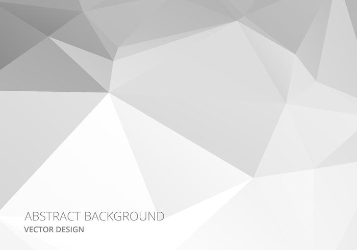 White Abstract Style Background Vector