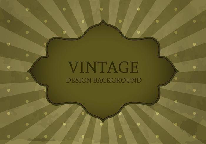 Old Vintage Style Label Background Vector