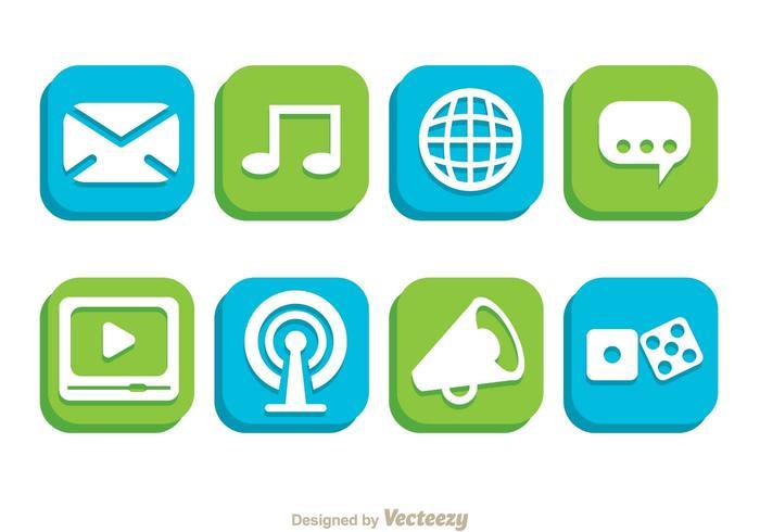 Botão do telefone social