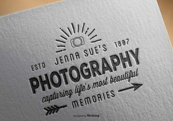 Vintage Photography Logo Template