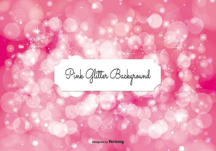 Pink Glitter Background Illustration