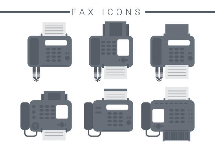 Fax Ikonvektorer