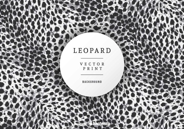 Free Leopard Print Background Vector