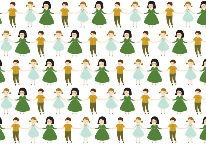 Characters Children Pattern
