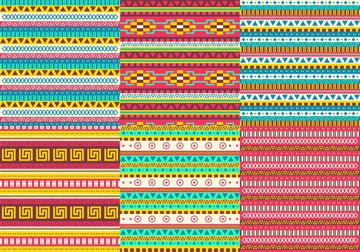 Aztec Pattern Vectors