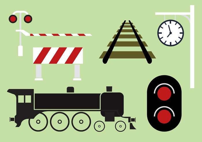 Railway Vector Collection