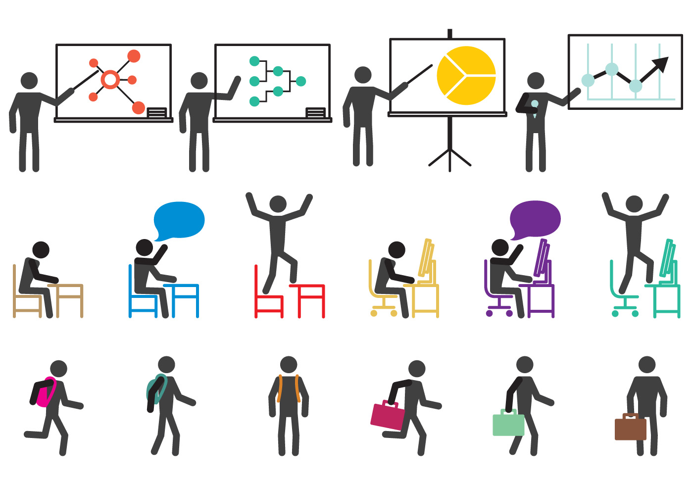School And Work Icons Download Free Vectors Clipart Graphics Vector Art Search icons & icon packs search icons search icon packs. https www vecteezy com vector art 93491 school and work icons