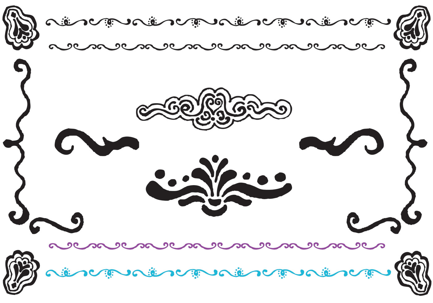 free fancy lines vector series download free vector art  stock graphics   images brush stroke vector png brush stroke vector png