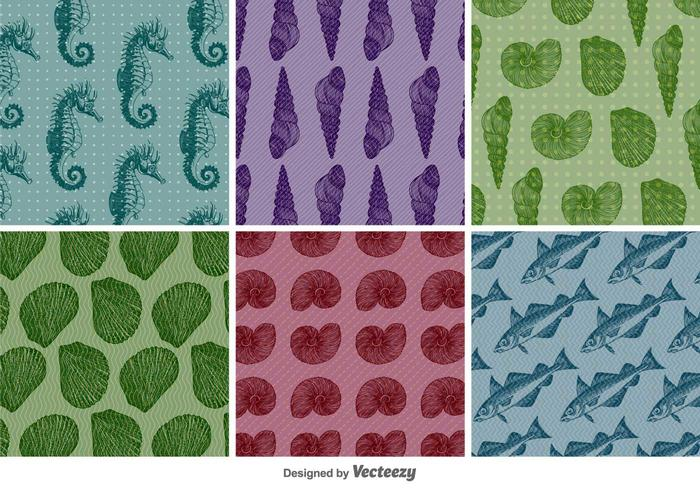 Vintage Aquatic Patterns