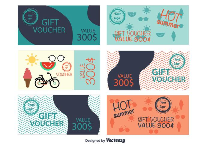 Summer gift vouchers download free vector art stock graphics summer gift vouchers yadclub Gallery