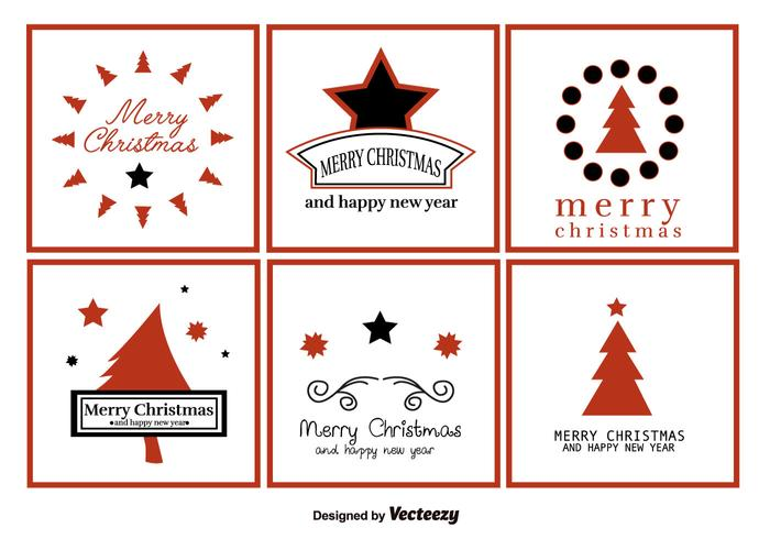 Merry Christmas Labels.Merry Christmas Greeting Labels Vector Download Free