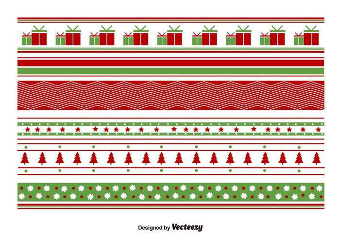 Geometrical Christmas Patterns