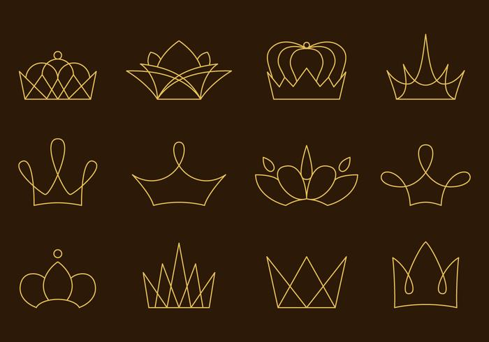 Linear Golden Crown Vectors