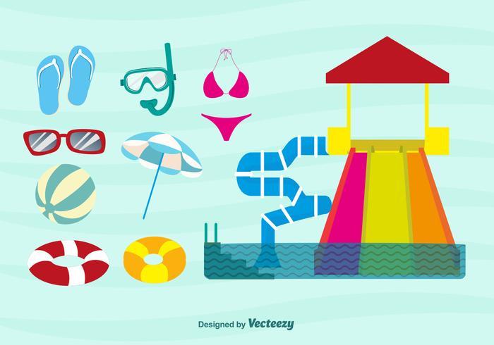 Fun Beach Time Icons