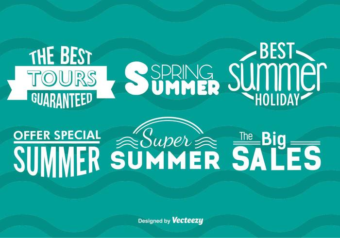 Summer Sale Badges