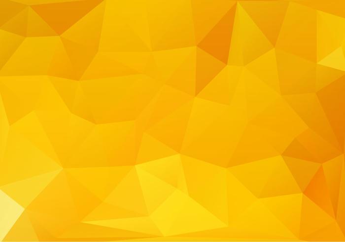 Gele Abstracte Achtergrond