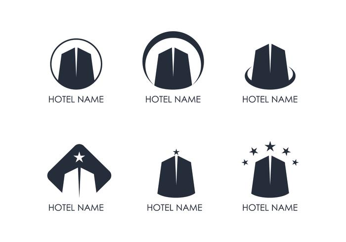 Hotel Logo Vectoren