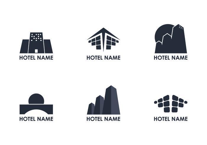 Logo Logo de l'hôtel vecteur