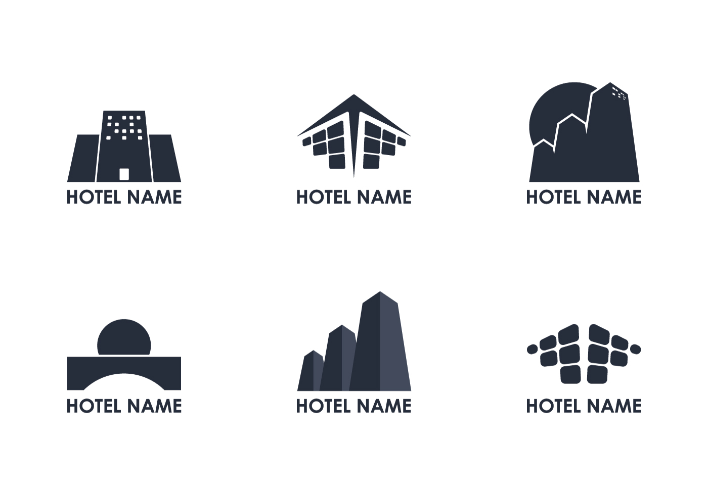 Hotel logo vectors download free vector art stock for Hotel logo design