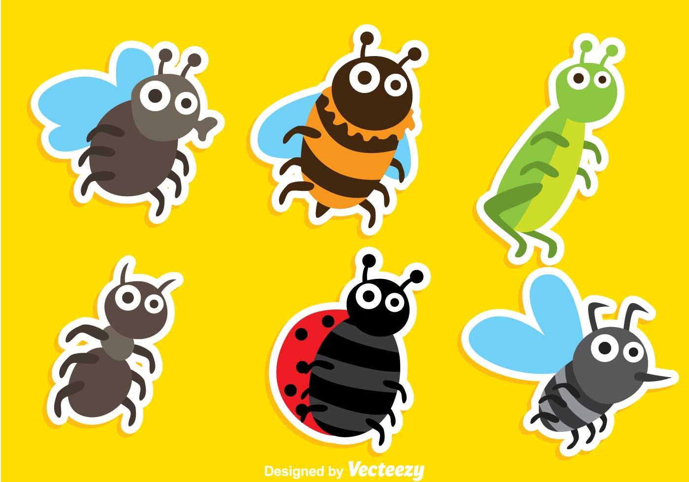 Cartoon Insect Vectors...