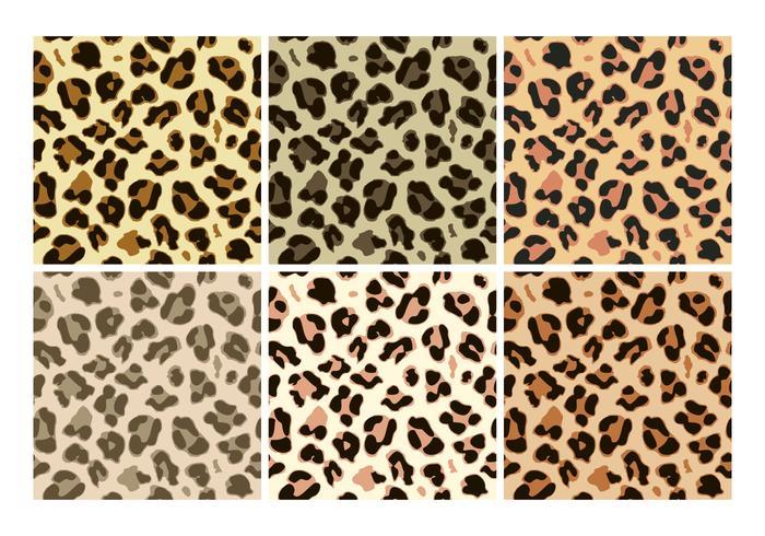 Gratis Leopard Mönstervektorer