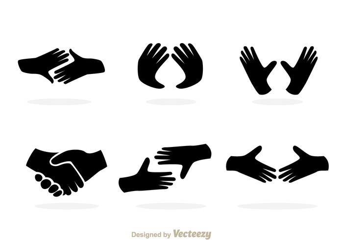 Black Hand Icons Download Free Vector Art Stock