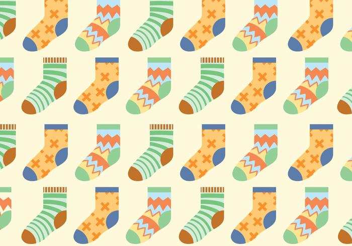Vector Socks Pattern