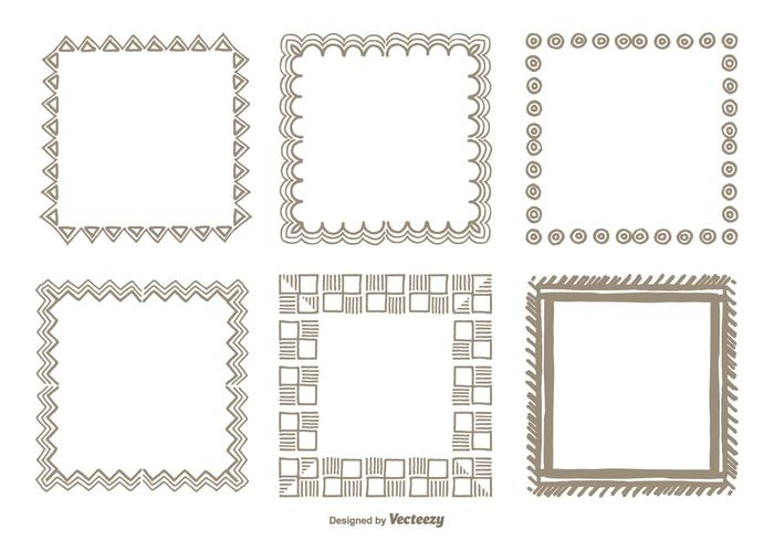 Hand Drawn Frame Set