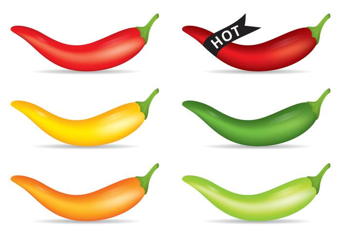 Hot Pepper Vectors