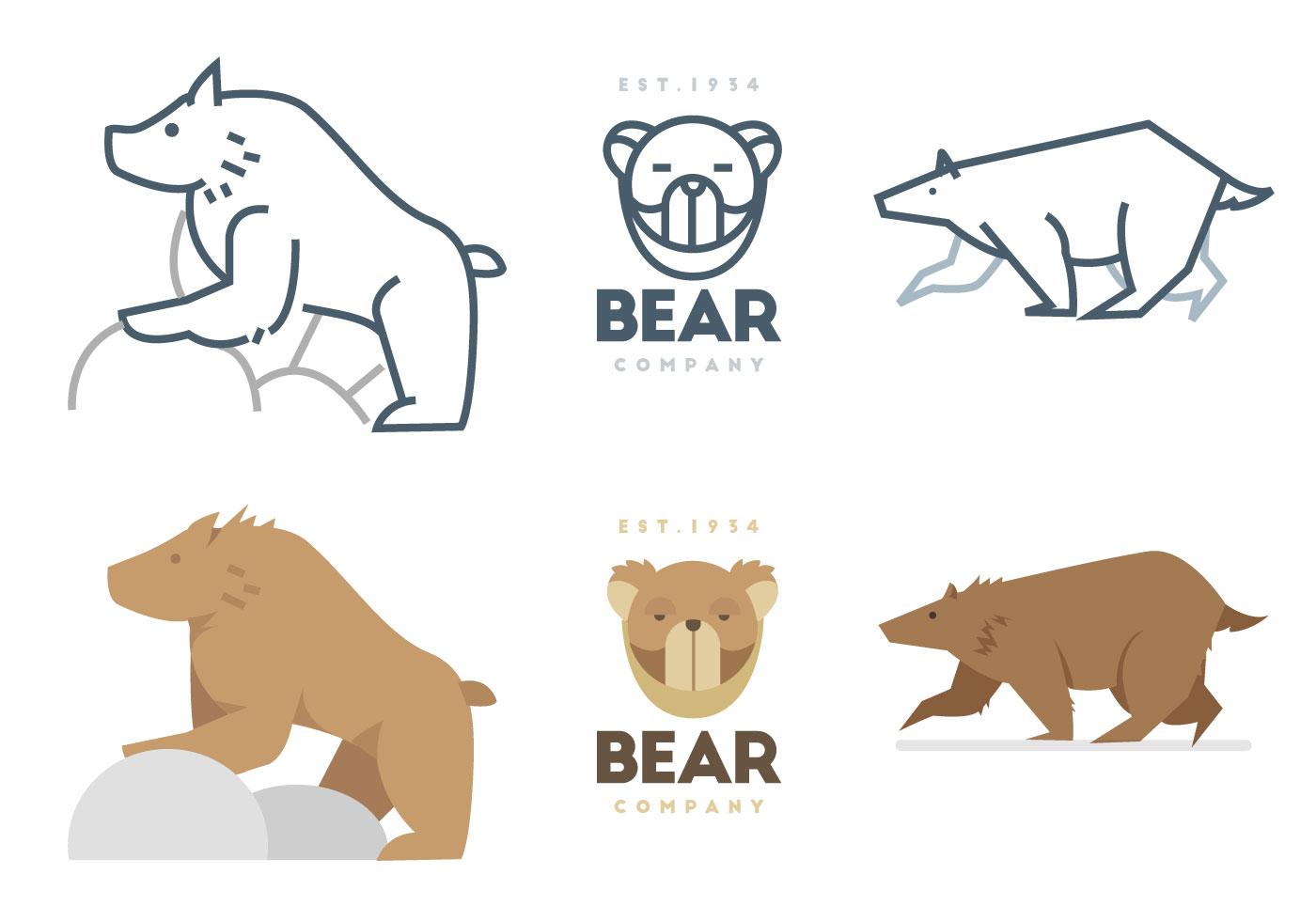熊圖案 免費下載 | 天天瘋後製