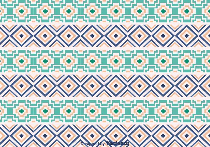Ethnic Aztec Ornament Pattern